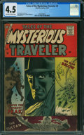 Tales of the Mysterious Traveler #5 (Charlton, 1957) CGC VG+ 4.5 OFF-WHITE TO WHITE pages