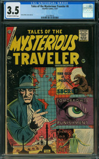 Tales of the Mysterious Traveler #6 (Charlton, 1957) CGC VG- 3.5 OFF-WHITE TO WHITE pages