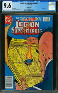 Modern Age (1980-Present):Superhero, Legion of Super-Heroes #307 - Canadian Edition (DC, 1984) CGC NM+ 9.6 White pages.