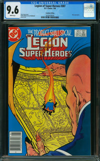 Legion of Super-Heroes #307 - Canadian Edition (DC, 1984) CGC NM+ 9.6 White pages