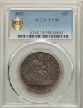 1882 50C VF35 PCGS. PCGS Population: (7/117 and 0/4+). NGC Census: (2/57 and 0/3+). CDN: $550 Whsle. Bid for problem-fre...