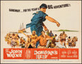 "Movie Posters:Comedy, Donovan's Reef (Paramount, 1963). Folded, Fine/Very Fine. Half Sheet (22"" X 28""). Comedy.. ..."