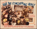 """Movie Posters:Comedy, Hail the Conquering Hero (Paramount, 1944). Folded, Fine+. Half Sheet (22"""" X 28"""") Style B. Comedy.. ..."""