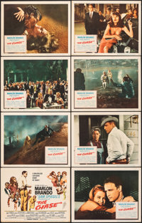 "The Chase & Other Lot (Columbia, 1966). Fine/Very Fine. Lobby Card Sets of 8 (2 Sets) (11"" X 14""). Dra..."