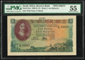 World Currency, South Africa South African Reserve Bank 5 Pounds 13.4.1951 Pick 97as Specimen PMG About Uncirculated 55.. ...