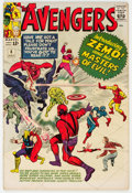 Silver Age (1956-1969):Superhero, The Avengers #6 (Marvel, 1964) Condition: VG....