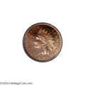 Proof Indian Cents: , 1889 1C PR66 Red Cameo PCGS....