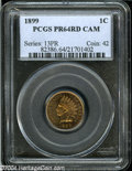 Proof Indian Cents: , 1899 1C PR64 Cameo PCGS....