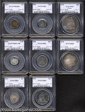 Early Proof Sets: , 1879 Proof Set PR65 to PR67 PCGS.... (8 coins)