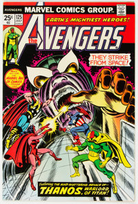 The Avengers #125 (Marvel, 1974) Condition: NM-