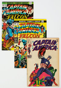 Captain America Group of 41 (Marvel, 1968-80) Condition: Average FN.... (Total: 41 Comic Books)