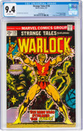 Bronze Age (1970-1979):Superhero, Strange Tales #178 Warlock (Marvel, 1975) CGC NM 9.4 Off-white pages....