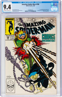 The Amazing Spider-Man #298 (Marvel, 1988) CGC NM 9.4 Off-white to white pages