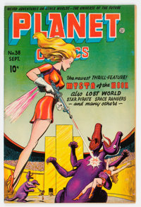 Planet Comics #38 (Fiction House, 1945) Condition: VG+