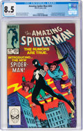 Modern Age (1980-Present):Superhero, The Amazing Spider-Man #252 (Marvel, 1984) CGC VF+ 8.5 Off-white to white pages....