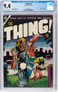 Golden Age (1938-1955):Horror, The Thing! #16 (Charlton, 1954) CGC NM 9.4 Off-white to white pages....