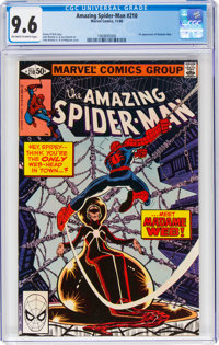 The Amazing Spider-Man #210 (Marvel, 1980) CGC NM+ 9.6 Off-white to white pages