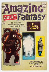 Amazing Adult Fantasy #11 (Marvel, 1962) Condition: FN+