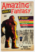 Silver Age (1956-1969):Science Fiction, Amazing Adult Fantasy #7 (Marvel, 1961) Condition: FN....