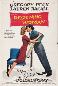 "Designing Woman & Other Lot (MGM, 1957). Folded, Fine. One Sheets (2) (27"" X 41"") & Lobby Card..."