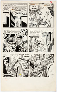 Don Heck and André LeBlanc Mandrake the Magician #1 Story Page 13 Original Art (King Features, 1966)