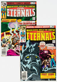 The Eternals #1 and 2 Group (Marvel, 1976) Condition: Average FN/VF.... (Total: 2 Comic Books)