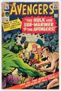 Silver Age (1956-1969):Superhero, The Avengers #3 (Marvel, 1964) Condition: VG-....