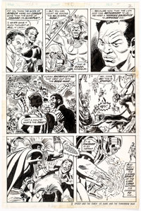 Don Heck and Frank Bolle Avengers #112 Story Page 2 Original Art (Marvel, 1973)