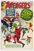 Silver Age (1956-1969):Superhero, The Avengers #6 (Marvel, 1964) Condition: FN+....