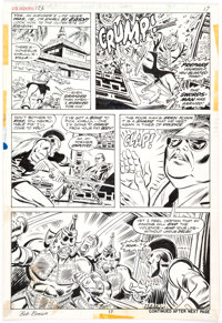 Bob Brown and Don Heck Avengers #123 Story Page 17 Original Art (Marvel Comics, 1974)