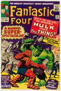 Silver Age (1956-1969):Superhero, Fantastic Four #25 (Marvel, 1964) Condition: FN-....