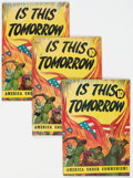 Golden Age (1938-1955):Miscellaneous, Is This Tomorrow #1 Group of 5 (Catechetical Guild, 1947) Condition: Average VG.... (Total: 5 Comic Books)