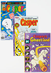 Casper-Related Comics Group of 27 (Harvey, 1960s-80s) Condition: Average VF.... (Total: 27 Comic Books)