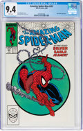 Modern Age (1980-Present):Superhero, The Amazing Spider-Man #301 (Marvel, 1988) CGC NM 9.4 White pages....