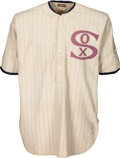 "Baseball Collectibles:Uniforms, 1919-20 Urban ""Red"" Faber Game Worn Chicago White Sox Uniform--Style Debuted in Notorious 1919 World Series!..."
