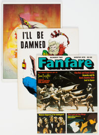 Fanzine/Prozine Group of 20 (Various, 1967-91) Condition: Average FN/VF.... (Total: 20 Items)