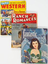 Assorted Pulps Group of 14 (Various, 1939-53) Condition: Average VG.... (Total: 14 Items)