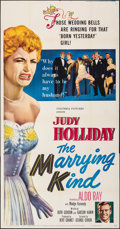 """Movie Posters:Comedy, The Marrying Kind (Columbia, 1952). Folded, Fine/Very Fine. Three Sheet (41"""" X 79""""). Comedy.. ..."""