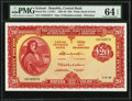 World Currency, Ireland Central Bank of Ireland 20 Pounds 1.6.1961 Pick 67a PMG Choice Uncirculated 64 EPQ.. ...