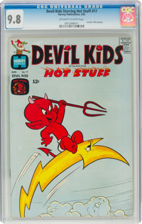 Devil Kids Starring Hot Stuff #17 (Harvey, 1965) CGC NM/MT 9.8 Off-white to white pages