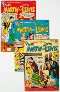 Adventures of Dean Martin and Jerry Lewis Group of 24 (DC, 1953-67) Condition: Average VG.... (Total: 24 Comic Books)