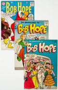 Golden Age (1938-1955):Humor, The Adventures of Bob Hope Group of 4 (DC, 1954-66) Condition: Average VF.... (Total: 4 Comic Books)