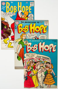 The Adventures of Bob Hope Group of 4 (DC, 1954-66) Condition: Average VF.... (Total: 4 Comic Books)