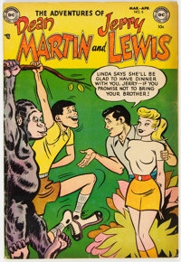 Adventures of Dean Martin and Jerry Lewis #5 (DC, 1953) Condition: GD+