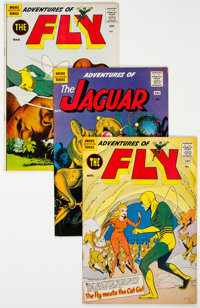 Adventures of the Fly/Adventures of the Jaguar Group of 12 (Archie, 1960-62) Condition: Average FN.... (Total: 12 Comic...