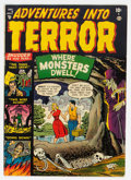 Golden Age (1938-1955):Horror, Adventures Into Terror #7 (Atlas, 1951) Condition: VG/FN....