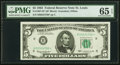 Fr. 1967-H* $5 1963 Federal Reserve Star Note. PMG Gem Uncirculated 65 EPQ