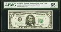 Fr. 1968-B* $5 1963A Federal Reserve Star Note. PMG Gem Uncirculated 65 EPQ