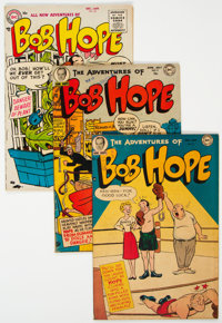 The Adventures of Bob Hope Group of 10 (DC, 1951-67) Condition: Average VG-.... (Total: 10 Comic Books)