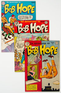 The Adventures of Bob Hope Group of 14 (DC, 1952-67) Condition: Average VG/FN.... (Total: 14 Comic Books)